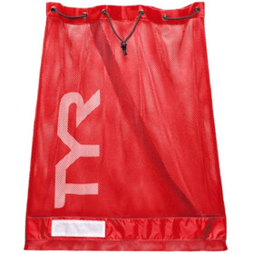TYR Mesh Equipment Bag red